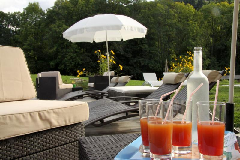 Garten Mietobjekt Appartement 59034 Saint Gervais Mont-Blanc