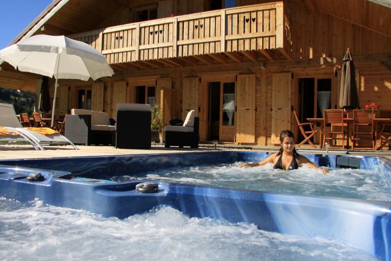 Schwimmbad Mietobjekt Appartement 59034 Saint Gervais Mont-Blanc