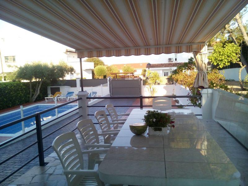 Ausblick von der Terrasse Mietobjekt Villa 59145 L'Ampolla