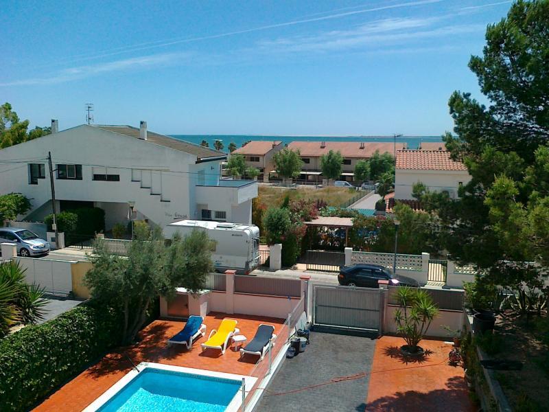 Ausblick aus der Ferienunterkunft Mietobjekt Villa 59145 L'Ampolla