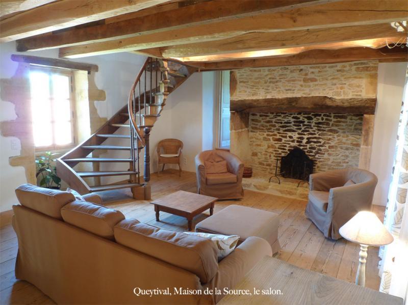 Wohnzimmer Mietobjekt Haus 59161 Sarlat
