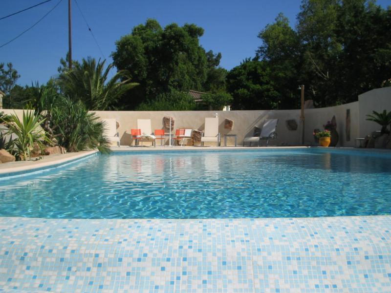 Schwimmbad Mietobjekt Villa 59191 Ste Lucie de Porto Vecchio