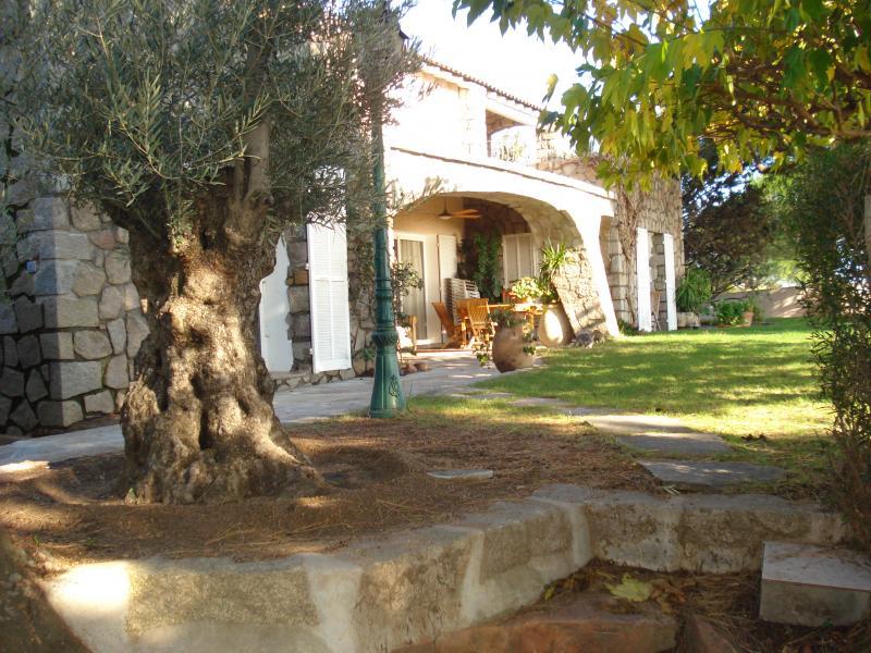 Garten Mietobjekt Villa 59191 Ste Lucie de Porto Vecchio