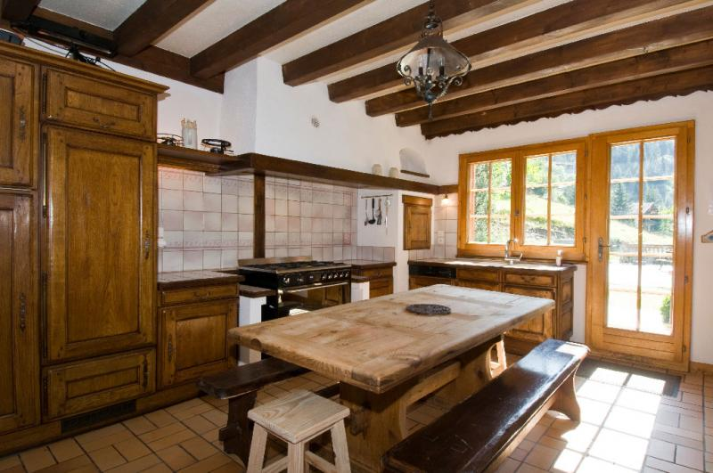 offene Küche Mietobjekt Chalet 600 Châtel