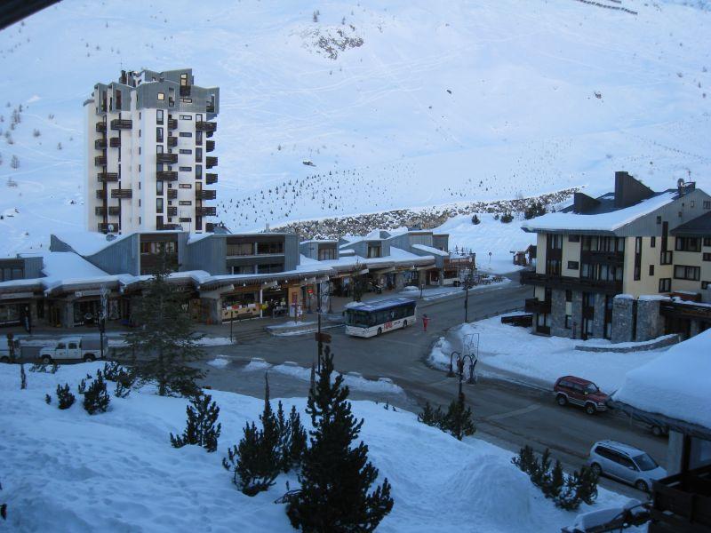 Ausblick aus der Ferienunterkunft Mietobjekt Appartement 60012 Tignes