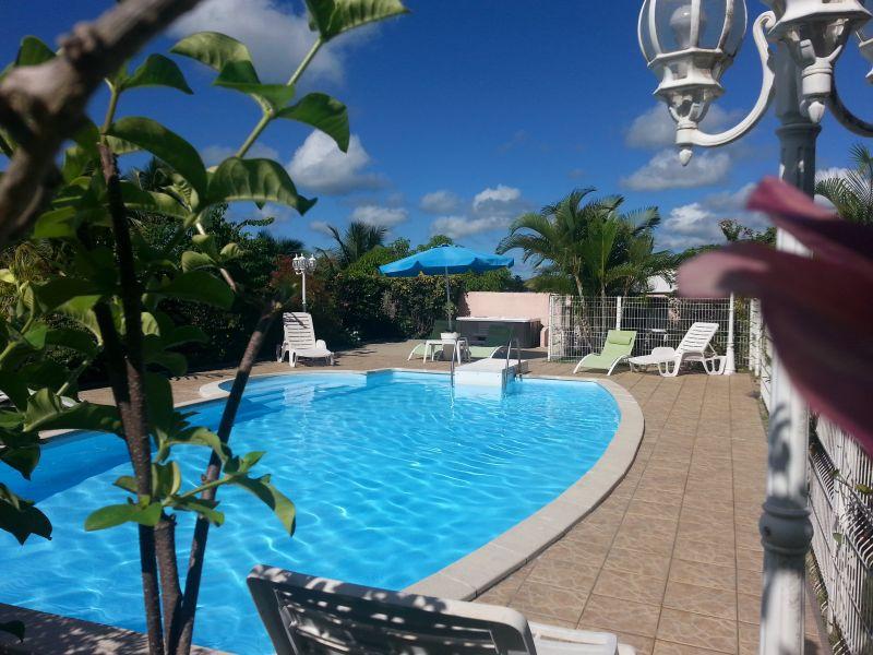 Schwimmbad Mietobjekt Ferienunterkunft auf dem Land 60117 Sainte Anne (Guadeloupe)