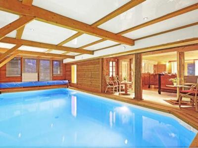 Schwimmbad Mietobjekt Chalet 60510 La Clusaz