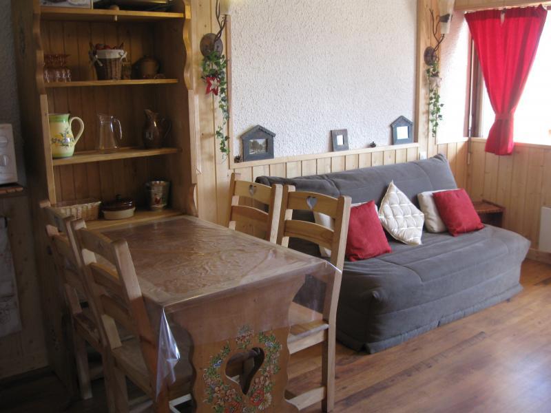 Ausblick von der Terrasse Mietobjekt Appartement 60821 Auris en Oisans