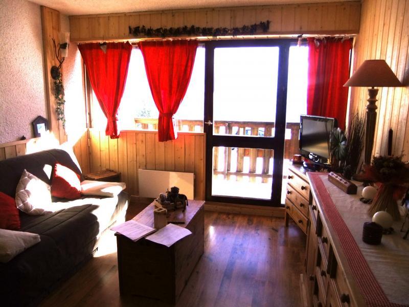 Wohnzimmer Mietobjekt Appartement 60821 Auris en Oisans
