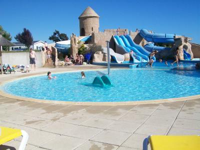 Schwimmbad Mietobjekt Mobil-Home 60835 Saint Jean de Monts