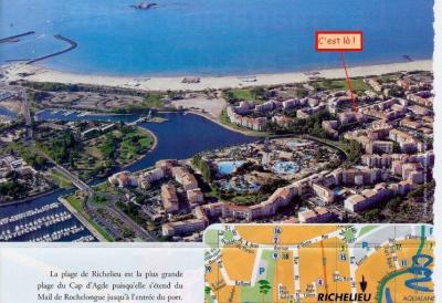 Ansicht des Objektes Mietobjekt Appartement 62881 Cap d'Agde