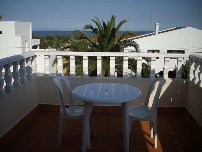 Ausblick vom Balkon Mietobjekt Villa 63018 L'Ampolla