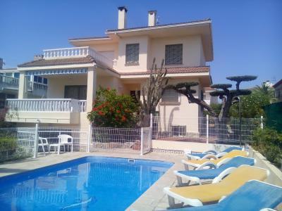 Ausblick von der Terrasse Mietobjekt Villa 63018 L'Ampolla