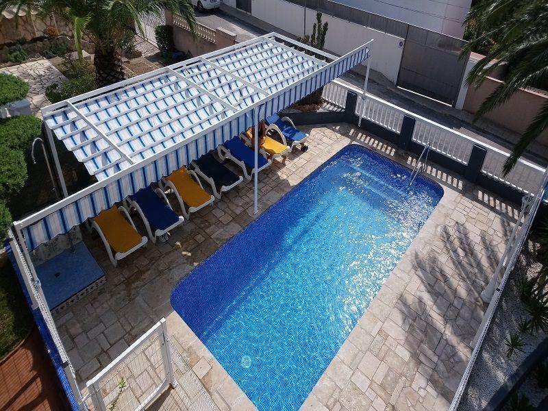 Schwimmbad Mietobjekt Villa 63018 L'Ampolla