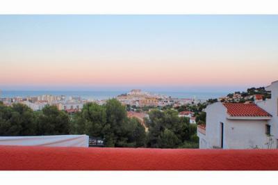 Ausblick aus der Ferienunterkunft Mietobjekt Appartement 63312 Pe��scola
