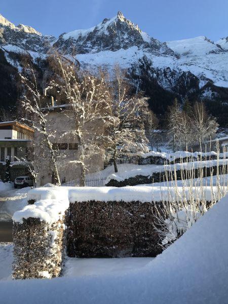 Ausblick aus der Ferienunterkunft Mietobjekt Appartement 647 Chamonix Mont-Blanc