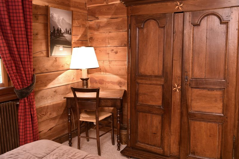 Schlafzimmer 1 Mietobjekt Chalet 706 Chamonix Mont-Blanc