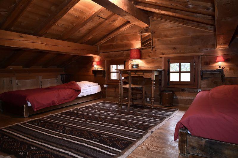 Schlafzimmer 3 Mietobjekt Chalet 706 Chamonix Mont-Blanc