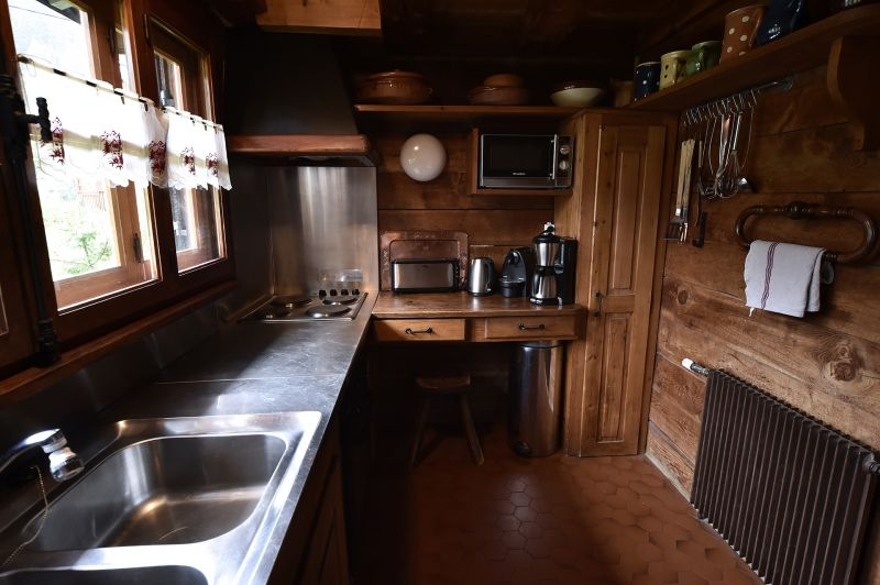 separate Küche Mietobjekt Chalet 706 Chamonix Mont-Blanc