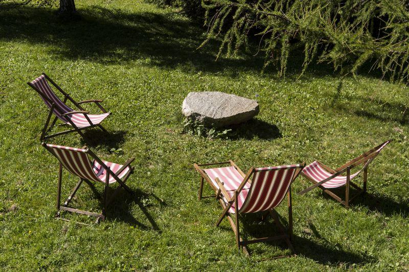 Garten Mietobjekt Chalet 706 Chamonix Mont-Blanc