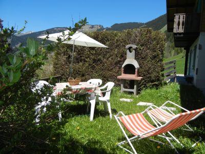 Garten Mietobjekt Chalet 799 Châtel