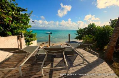 Ausblick aus der Ferienunterkunft Mietobjekt Villa 8020 Saint Francois