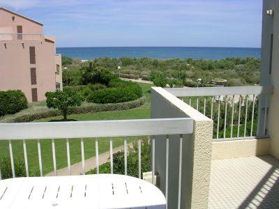 Balkon Mietobjekt Appartement 8725 Saint Cyprien Plage