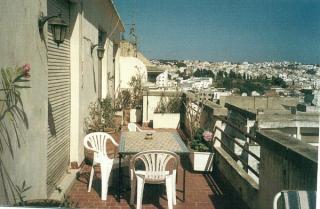 Terrasse Mietobjekt Appartement 9041 Tanger