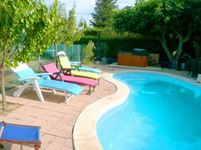 Schwimmbad Mietobjekt Chalet 9151 Avignon