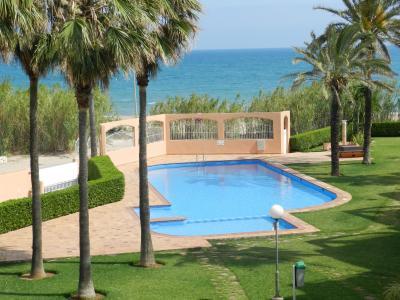 Ausblick aus der Ferienunterkunft Mietobjekt Appartement 9697 D�nia
