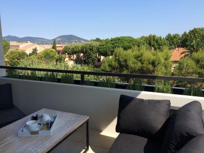 Terrasse Mietobjekt Appartement 101087 Saint Tropez
