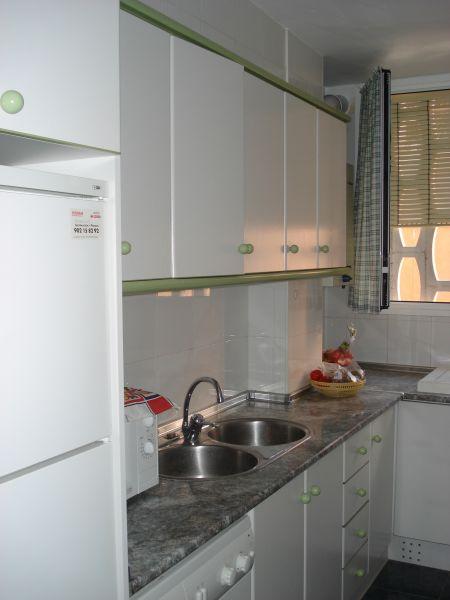 separate Küche Mietobjekt Appartement 101798 Calpe