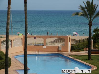 Ausblick vom Balkon Mietobjekt Appartement 103298 D�nia