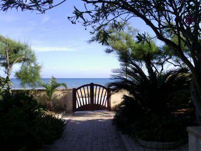 Eingang Mietobjekt Villa 105374 Mazara del Vallo