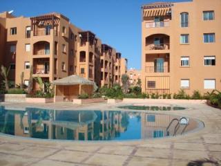 Ausblick vom Balkon Mietobjekt Appartement 66315 Mohammedia