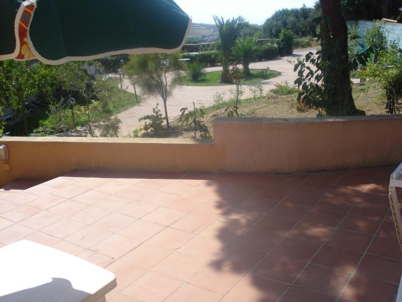 Ausblick von der Terrasse Mietobjekt Appartement 76423 Trinità d'Agultu e Vignola