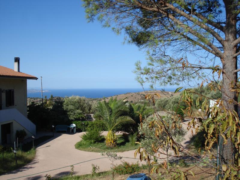Ausblick aus der Ferienunterkunft Mietobjekt Appartement 76423 Trinità d'Agultu e Vignola