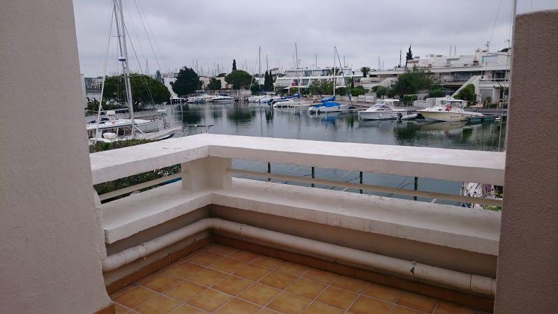 Ausblick von der Terrasse Mietobjekt Appartement 98080 Le Grau du Roi