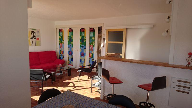 Wohnzimmer Mietobjekt Appartement 98080 Le Grau du Roi