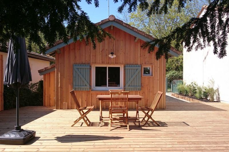 Ausblick aus der Ferienunterkunft Mietobjekt Ferienunterkunft auf dem Land 108872 Andernos les Bains