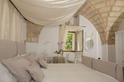 Schlafzimmer 1 Mietobjekt Villa 109501 Ostuni