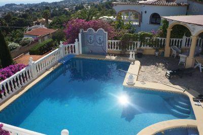 Schwimmbad Mietobjekt Villa 110248 Dénia