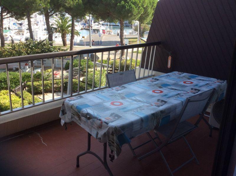 Ausblick vom Balkon Mietobjekt Studio 112800 Port Camargue