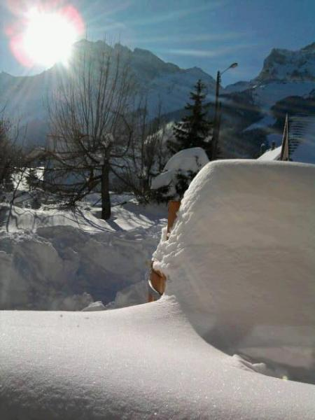 Ausblick vom Balkon Mietobjekt Ferienunterkunft auf dem Land 66151 Gresse en Vercors