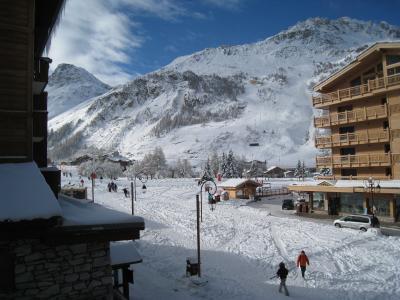 Ausblick vom Balkon Mietobjekt Appartement 72988 Val d'Isère