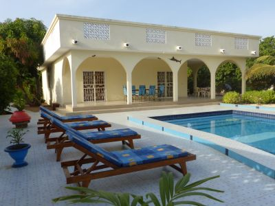 Schwimmbad Mietobjekt Villa 77706 Mbour