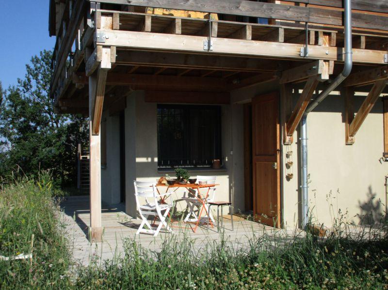 Terrasse Mietobjekt Ferienunterkunft auf dem Land 81230 Orcières Merlette
