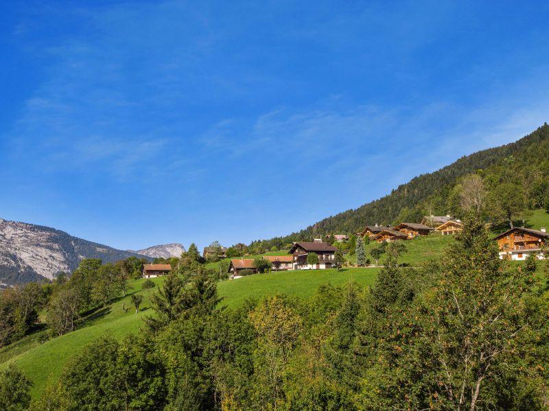 Ausblick von der Terrasse Mietobjekt Chalet 101553 Manigod-Croix Fry/L'étale-Merdassier