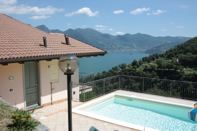 Schwimmbad Mietobjekt Appartement 106778 Solto Collina