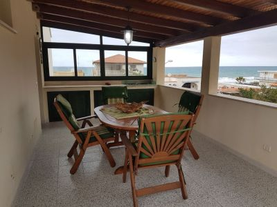 Terrasse Mietobjekt Haus 110853 Castellammare del Golfo
